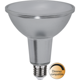 LED-Lampa E27 PAR38 Spotlight Glass Dim , hemmetshjarta.se