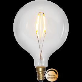 LED-lampa E14 Soft Glow G95 Dim , hemmetshjarta.se