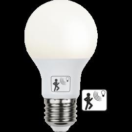 LED-Lampa E27 Sensor Ø60 lm470/40w Frostad , hemmetshjarta.se