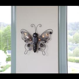 Solcellsdekoration Butterfly , hemmetshjarta.se