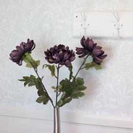 Konstgjord Chrysanthemum 68 cm , hemmetshjarta.se