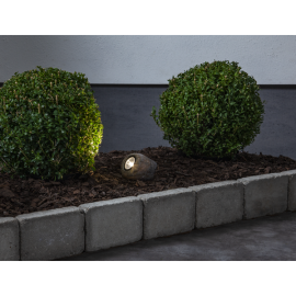 Solcells-spotlight Rocky , hemmetshjarta.se