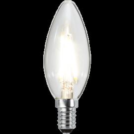 LED-Lampa E14 Ø35 lm270/26w Clear , hemmetshjarta.se