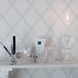 .Smink Förvaring Plexiglas Halvmåne , hemmetshjarta.se