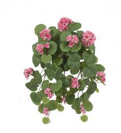 Konstgjord Hängpelargon 50 cm Rosa , hemmetshjarta.se
