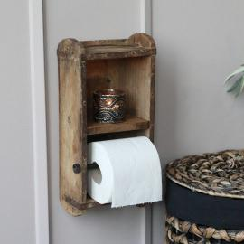 Toalettpappershållare av murstensform , hemmetshjarta.se