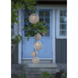 Solcells-ljusslinga Festival , hemmetshjarta.se