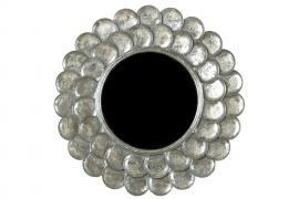 Spegel/Rund Silver 75cm , hemmetshjarta.se