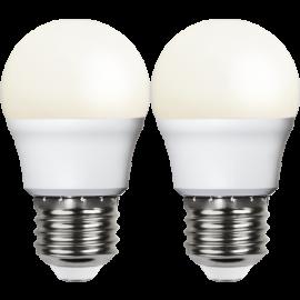 LED-Lampa E27 Ø45 lm250/25w Frostad Basic 2-pack , hemmetshjarta.se