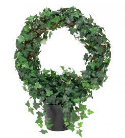 Konstgjord Murgröna planta på båge 85 cm , hemmetshjarta.se