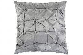 Kuddfodral Dream Sammet 60x60 cm - ljusgrå , hemmetshjarta.se