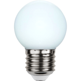 LED-lampa E27 Outdoor Lighting G45 Opal , hemmetshjarta.se