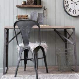 Vecka 30 Skrivbord med träplatta H78.5 / L120 / B59.5 cm natur , hemmetshjarta.se