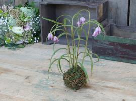 Fleur Vibe ägg med moss boll H31 cm lavendel , hemmetshjarta.se