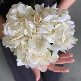 Konstgjord Hortensia 55 cm Real Touch , hemmetshjarta.se