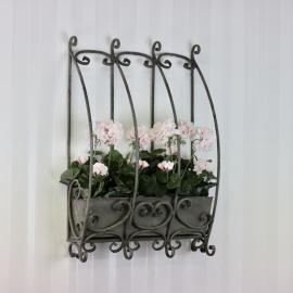 Blomlåda till vägg 66x43 cm , hemmetshjarta.se