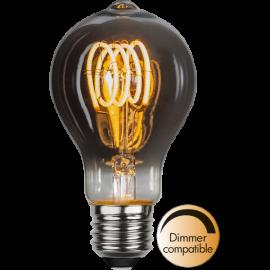 LED-lampa E27 Decoled Spiral Smoke TA60 Dim , hemmetshjarta.se
