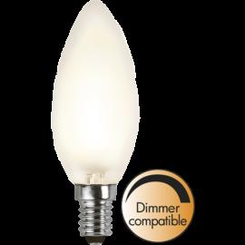 LED-Lampa E14 Ø35 Dim lm320/30w Frostad , hemmetshjarta.se