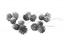 Lärkkotte/Tråd Silver 3stx3-pack , hemmetshjarta.se