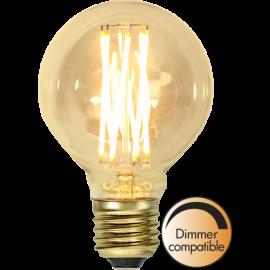 LED-lampa E27 Vintage Gold G80 Dim , hemmetshjarta.se