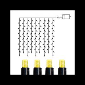 Ljusgardin Utomhus Batteridriven Dura String LED Varmvit 120 ljus 110cm , hemmetshjarta.se