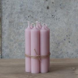 Kyrkljus 4,5 t ej bunden H11 / Ø2 cm ljusrosa , hemmetshjarta.se