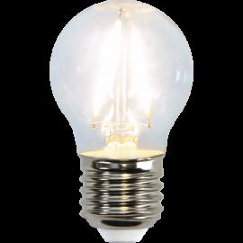 LED-Lampa E27 Ø45 lm150/16w Clear , hemmetshjarta.se