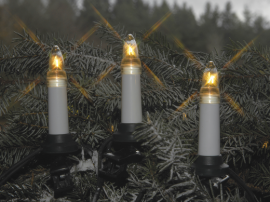 Julgransbelysning Utomhus Vit 25 11,5cm , hemmetshjarta.se