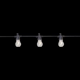 Ljusslinga EL Circus Filament Utomhus Varmvit 10 ljus 405cm , hemmetshjarta.se