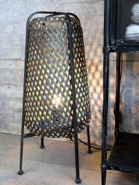 Lampa i korg H67 / Ø30 cm antikt kol , hemmetshjarta.se