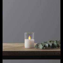 LED Blockljus M-Twinkle Transparent 5x7,5 , hemmetshjarta.se