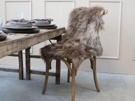 Konstgjord fårfäll L90xB60 cm - mocca , hemmetshjarta.se