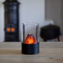 Batteridriven Lykta Fireplace , hemmetshjarta.se