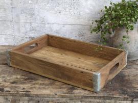 Vecka 49 Grimaud Bricka av trä med handtag H8 / L45 / W30 cm naturligt , hemmetshjarta.se