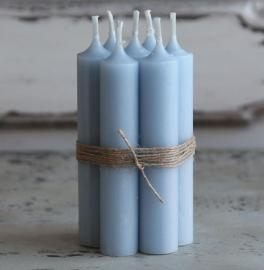 Kyrkljus - ljusblå , hemmetshjarta.se