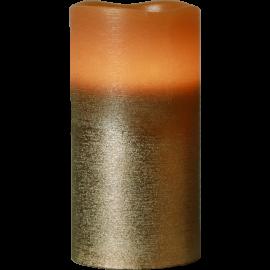 Batteridriven Blockljus LED Cooper 7,5x15cm , hemmetshjarta.se