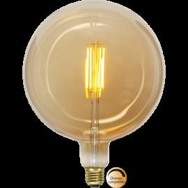 LED-lampa E27 Industrial Vintage G200 Dim , hemmetshjarta.se