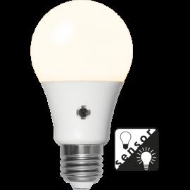 LED-Lampa E27 Sensor Ø60 lm1100/75w Frostad , hemmetshjarta.se