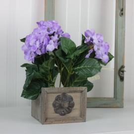 Konstgjord Hortensia 30 cm Lila , hemmetshjarta.se