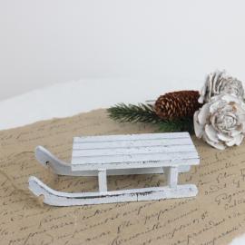 .Kälke i trä 12,5 cm , hemmetshjarta.se
