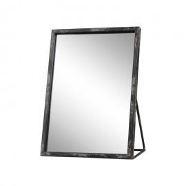 Spegel Industry H29 / L21.5 / B12,5 cm antik svart , hemmetshjarta.se