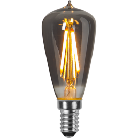 LED-lampa E14 Decoled Smoke ST38 , hemmetshjarta.se