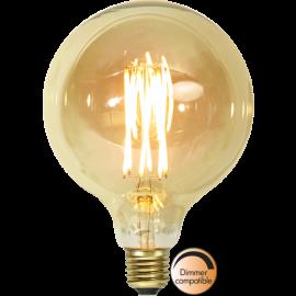 LED-lampa E27 Vintage Gold G125 Dim , hemmetshjarta.se