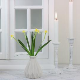 Konstgjord Påsklilja bunt 20 cm , hemmetshjarta.se
