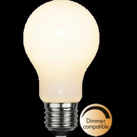 LED-Lampa E27 Ø60 Dim lm470/40w Frostad Ra90 , hemmetshjarta.se