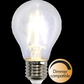 LED-Lampa E27 Ø60 lm400/35w Clear , hemmetshjarta.se