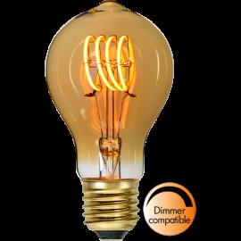 LED-lampa E27 Decoled Spiral Amber TA60 Dim , hemmetshjarta.se