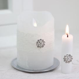 Ljussmycke Diamant 2-pack , hemmetshjarta.se