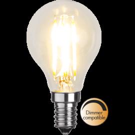 LED-Lampa E14 Ø45 Dim lm420/37w Clear , hemmetshjarta.se