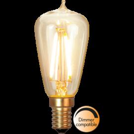 LED-lampa E14 Soft Glow ST38 Dim , hemmetshjarta.se